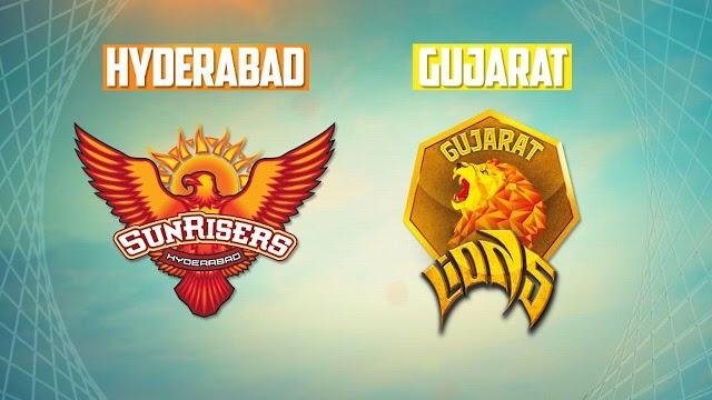 सनराइजर्स हैदराबाद ने गुजरात लायन्स को 10 विकेट से हराया