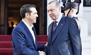 Αιτήματα προς Ε.Ε. από Τσίπρα και Ερντογάν