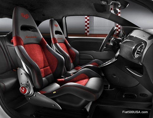 Abarth 695 'Record' interior