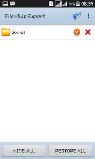 Tips Mudah Menyembunyikan File/Folder DI Android!