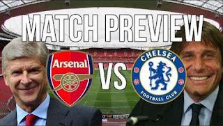 Prediksi Chelsea vs Arsenal - Final Piala FA Sabtu 27 Mei 2017