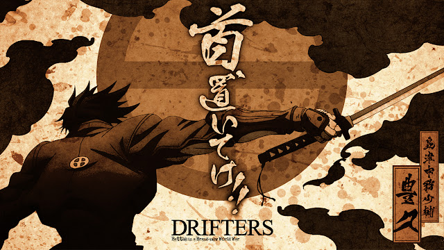 Drifters anime wallpaper hd
