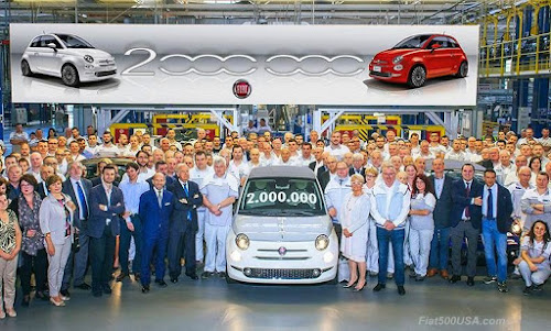 2 Millionth Fiat 500