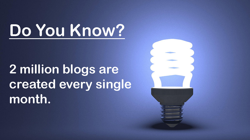 do you know. blogging system, blogging tips