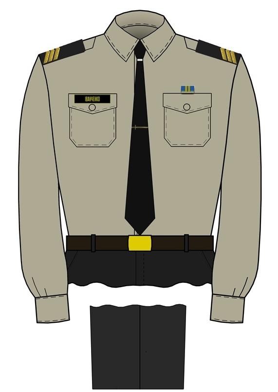 форма солдатів і сержантів ВМС