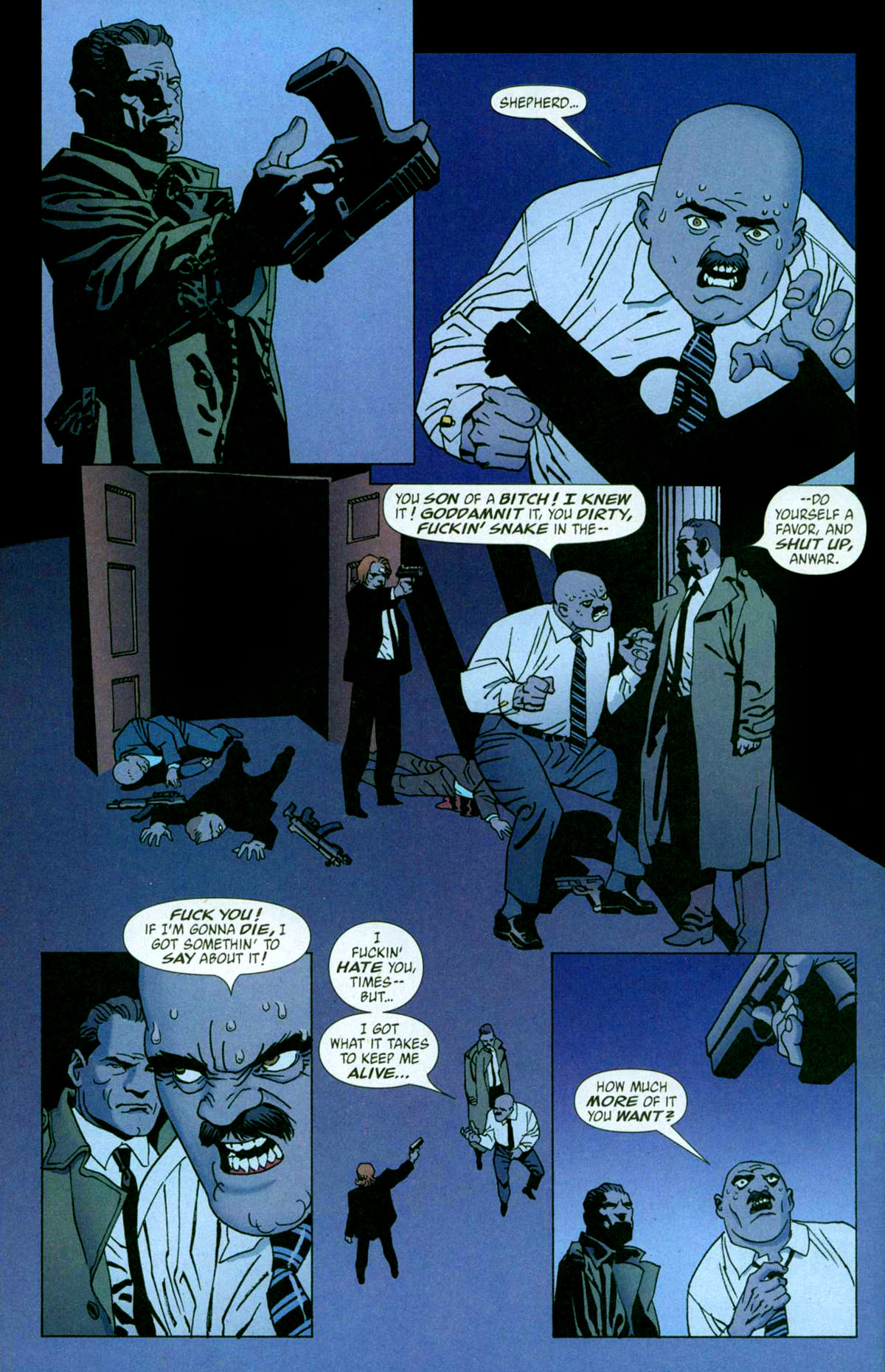 Read online 100 Bullets comic -  Issue #56 - 17