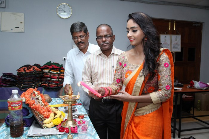 Pooja Launches Pochampally Mela IKAT@ECIL Stills
