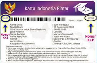 Cara Memasukan Nomor Kartu Indonesia Pintar (KIP) di Dapodik