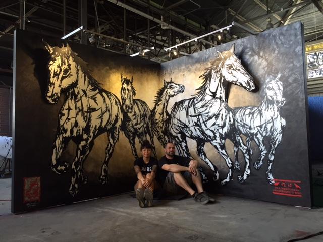cassie-jo-mathew-curran-horse-stencil-mural-makeyourcitywild