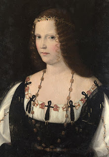 Lucrezia Borgia is said to have tipped off Sforza of a plot to have him killed