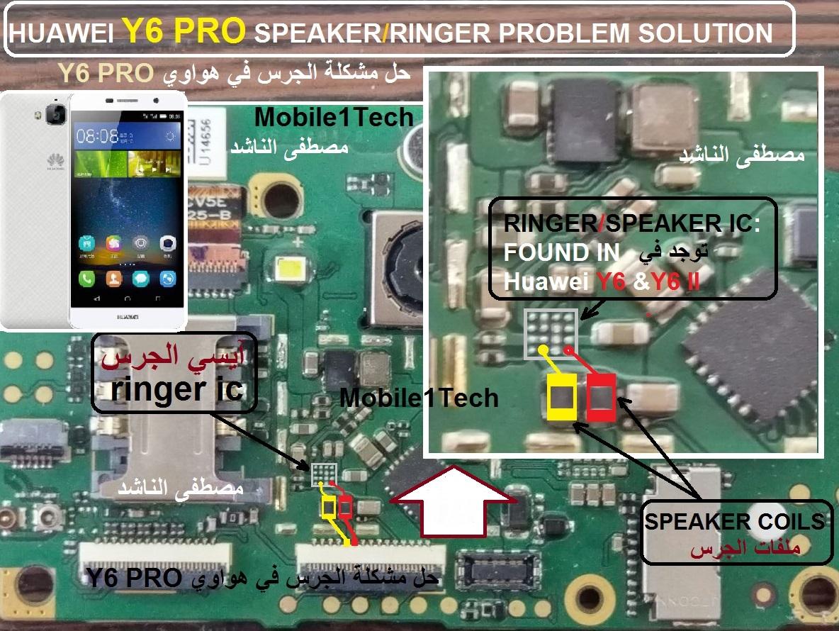 HUAWEI Y6 PRO SPEAKER PROBLEM SOLUTION | Mobile1Tech