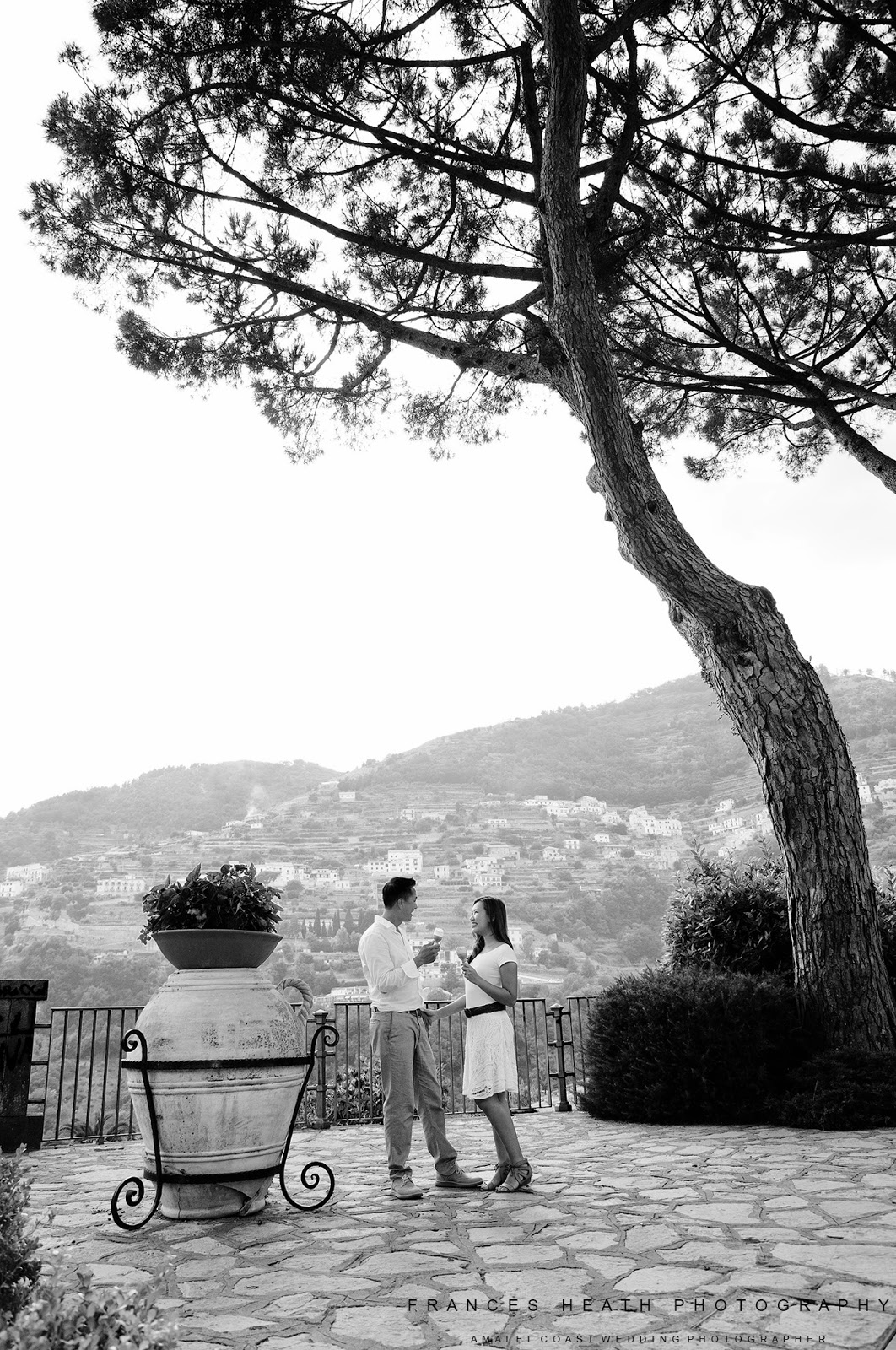 Portrait in Ravello square