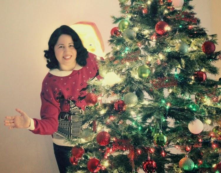 A Vintage Nerd, Vintage Blog, Vintage Christmas, Holiday Sweater, British Christmas Jumper