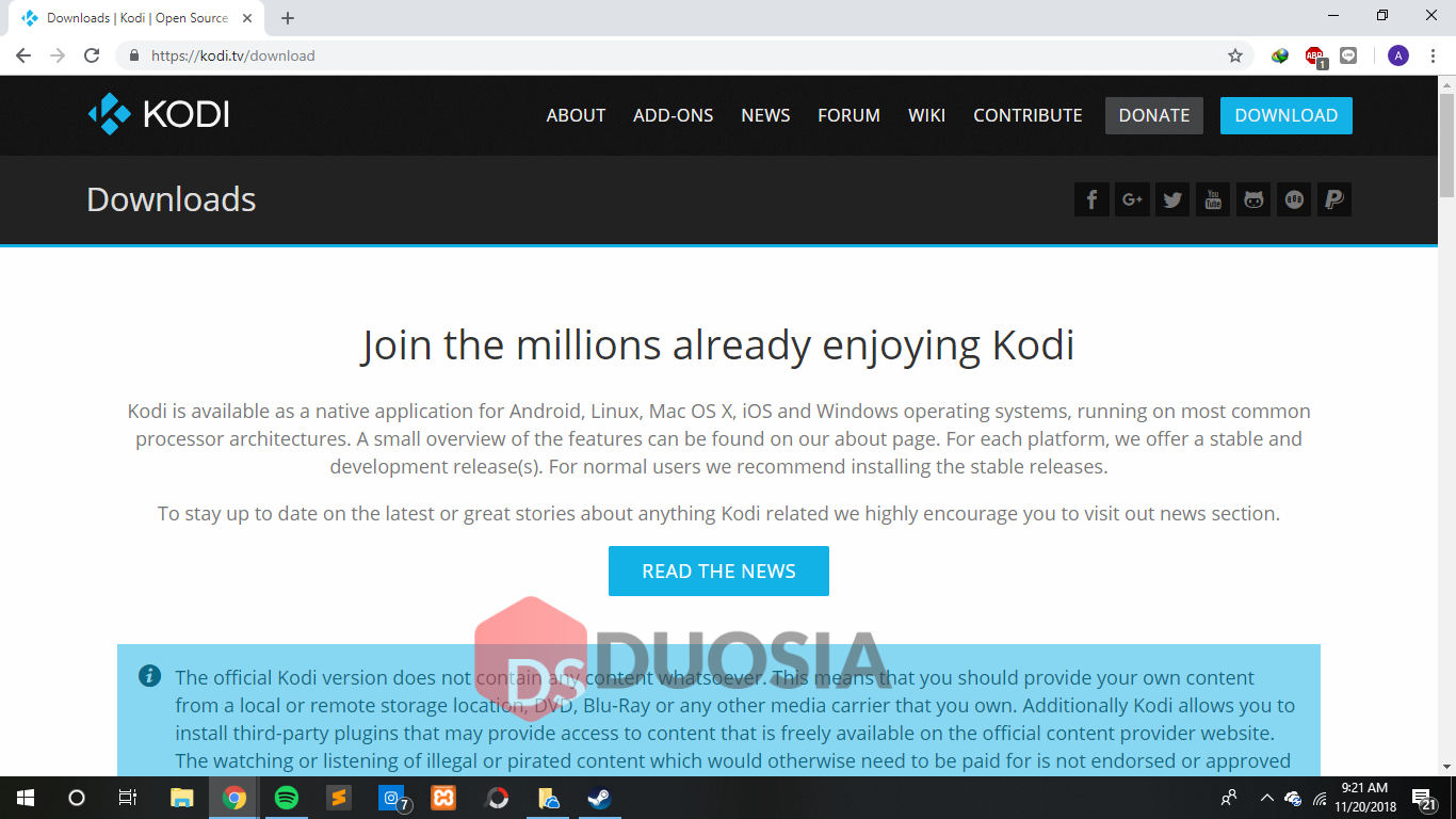 Cara Menginstall Kodi di Windows