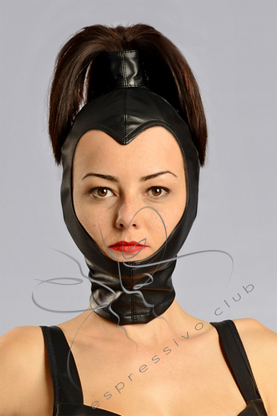 Congratulate, seems leather bondage face head mask join. was