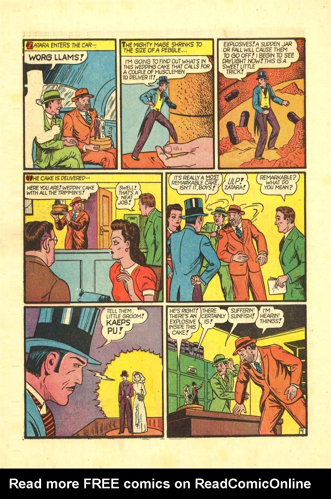 Read online Action Comics (1938) comic -  Issue #54 - 59
