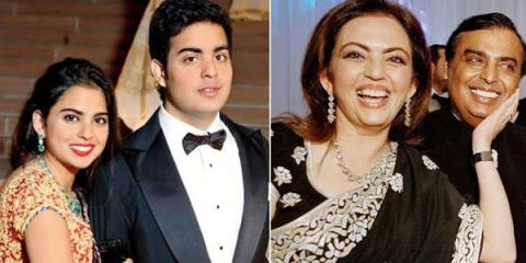 mukesh ambani and neeta mabani