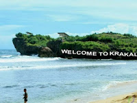 10 Spot Foto Keren Pantai Krakal Gunung Kidul Yogyakarta : Rute Lokasi, Harga Tiket, Fasilitas, Penginapan