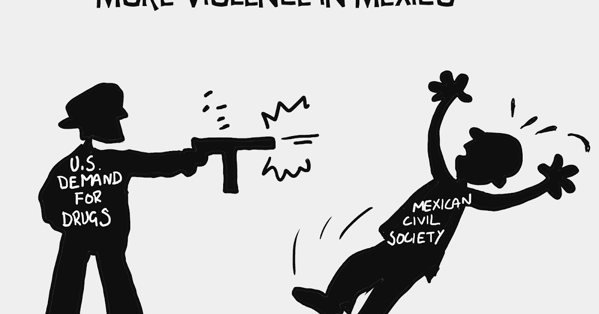 MacLeod Cartoons: Drug-Related Violence in Mexico