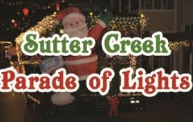 Sutter Creek Parade of Lights - Sat Dec 14