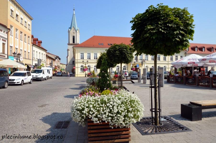 Orasul Oswiecim (Auschwitz) din Polonia