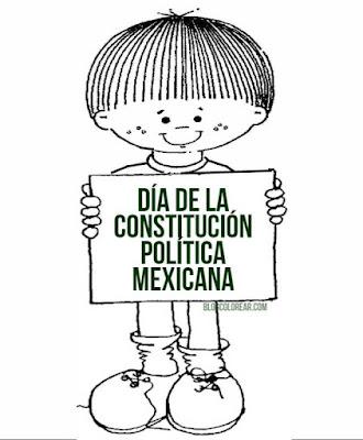 del Día de la constitución mexicana
