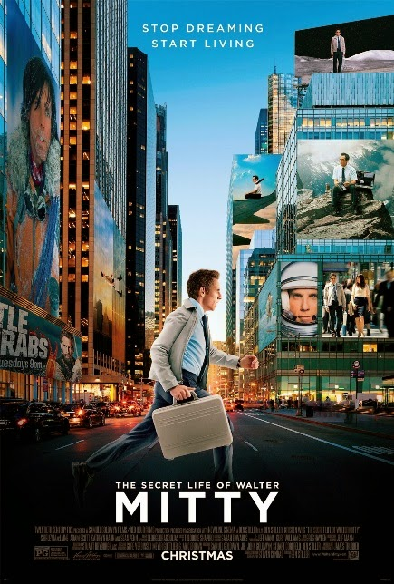 """The Secret Life of Walter Mitty (2013)"" movie review by Glen Tripollo"