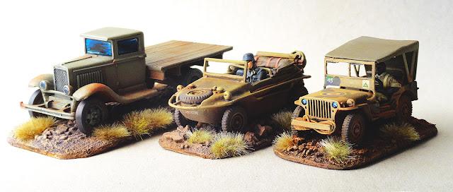 GAZ AA, Jeep, Schwimmwagen