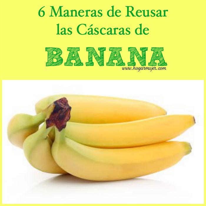 #consejos #reusar #remedioscaseros #banana #ecotips
