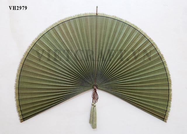 Bamboo fan vietnamese decorative large bamboo fan - Wall fans decorative ...