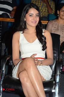Actress Ruksaar Mir Pictures in Short Dress at Showtime Movie Logo Launch  0063.JPG