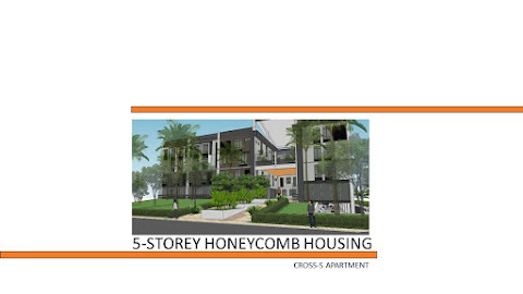 A 5-Storey High-Density Honeycomb Apartment