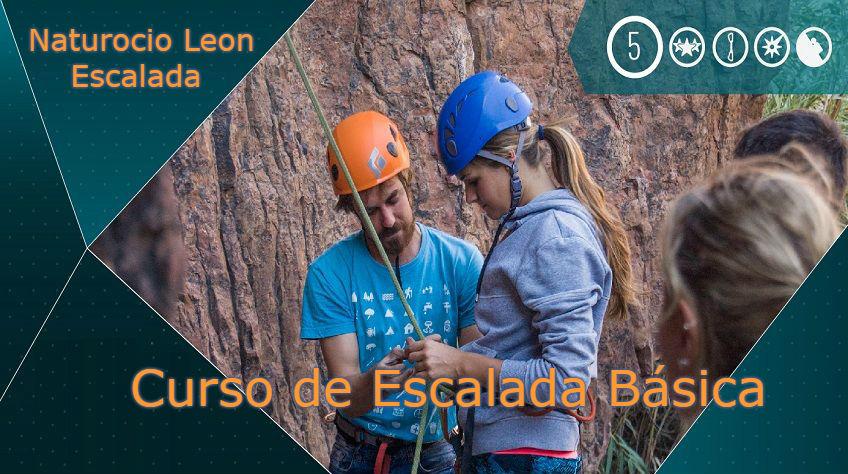 Aprender escalada básica -  Naturocio Leon