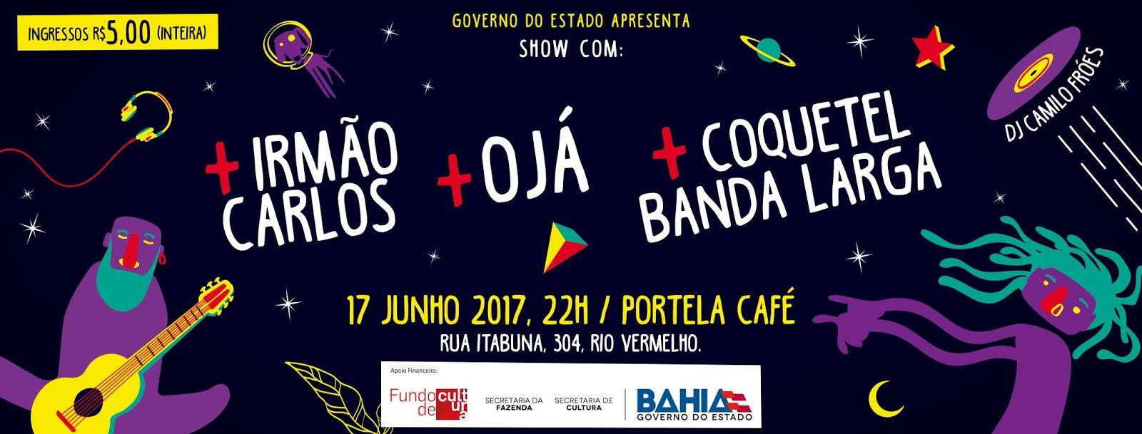 743f8f8349b18 Ojá e Coquetel Banda Larga apresentam repertório autoral na 3ª Incubadora  Sonora