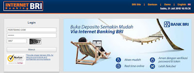 cara beli pulsa listrik atau token listrik di internet banking bri