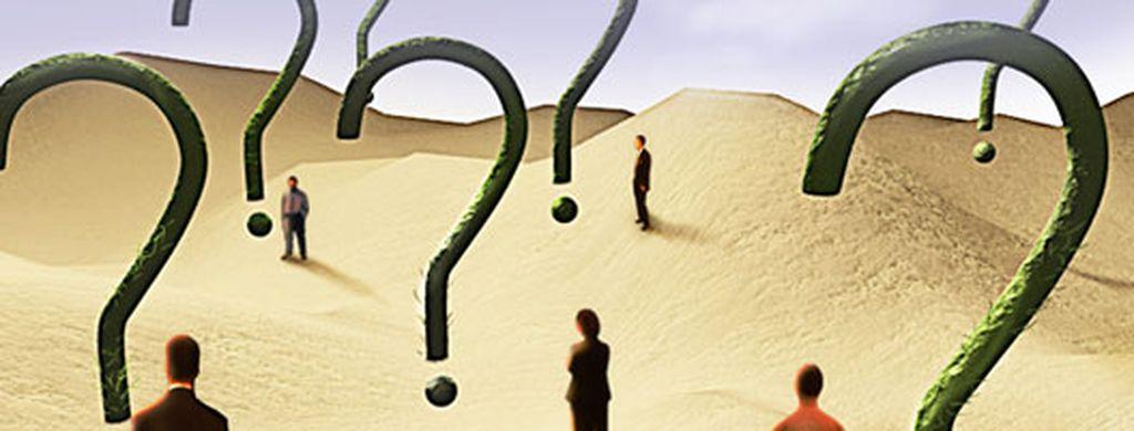 Desierto con interrogantes