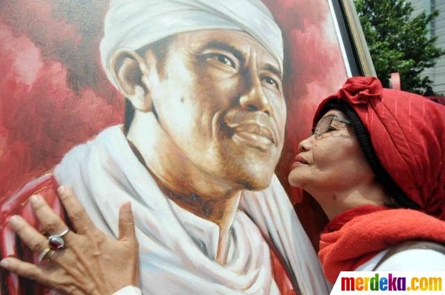 'Pernah Menjadi Santri', Tampaknya Kiyai Ma'ruf Sindir Jokowi