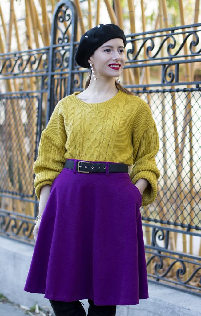 adina nanes fuchsia skirt twinkledeals review
