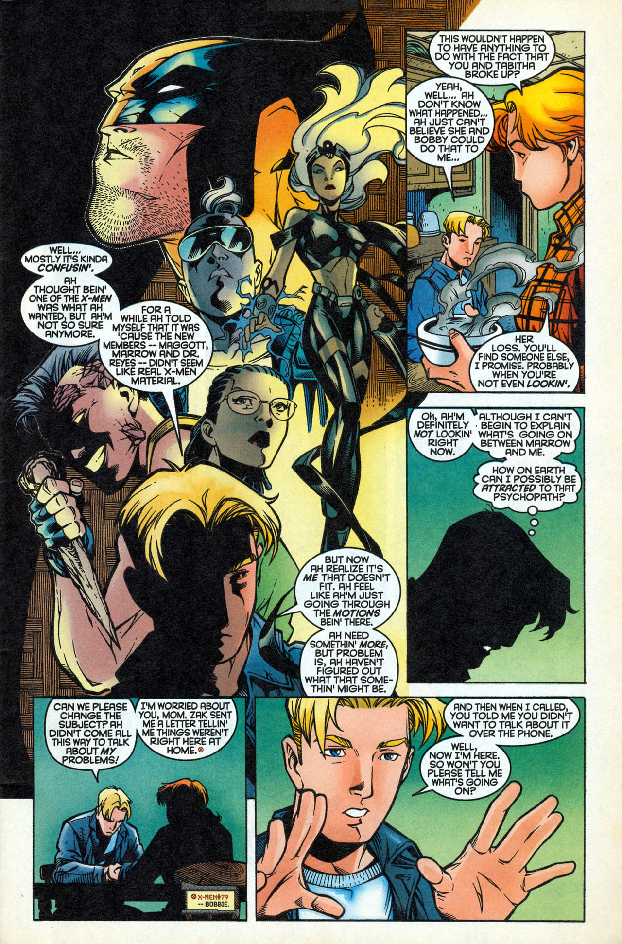Read online X-Force (1991) comic -  Issue #83 - 6