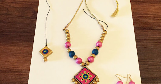 Terracotta Necklace sets