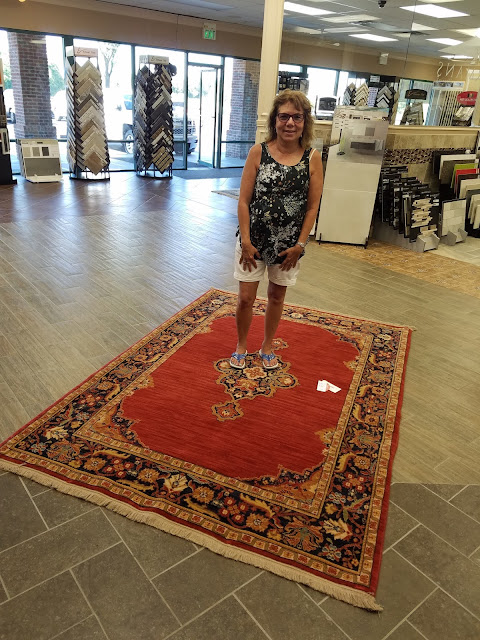 Kermans Flooring Indianapolis Rug Winner - June 2016