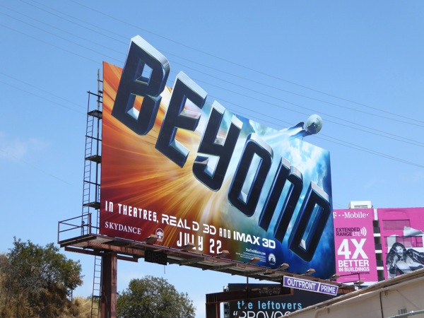 Star Trek Beyond extension cut-out billboard