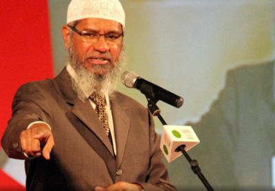 Dr. Zakir Naik diperiksa