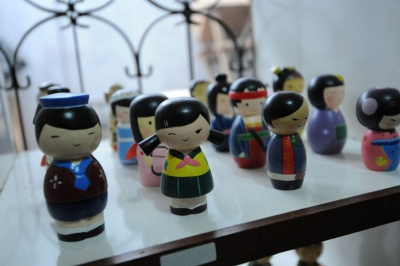 Kerajinan boneka kayu Tasikmalaya