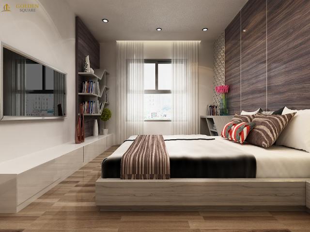 Phòng ngủ chung cư Golden Square