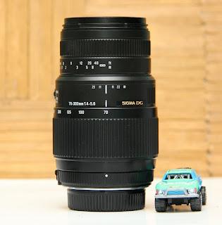 Jual Lensa Sigma 70-300mm Bekas - Mount : Nikon
