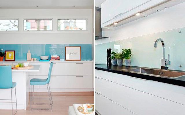 Marzua revestimiento de frentes de cocina - Alicatar cocina detras muebles ...