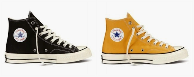 72cb8d6397c8 Choose from the Classic Chuck Taylor All Star  70s with its six core colors  of Sunflower