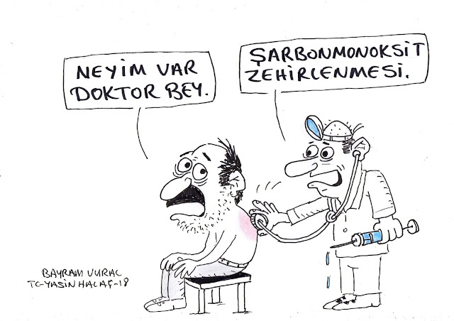 şarbonmonoksit karikatür