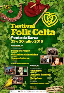 Programa Festival Folk Celta 2016